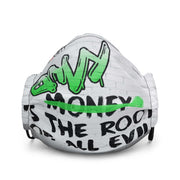 Envy is the Root of All Evil - Premium face mask