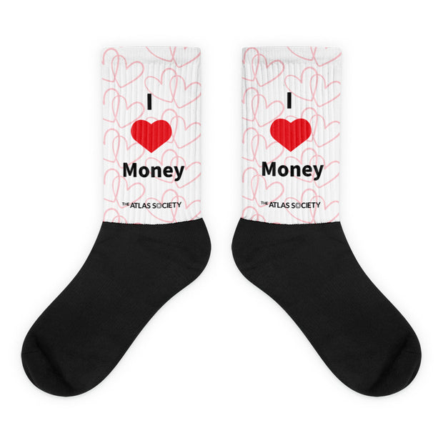 I Love Money Socks