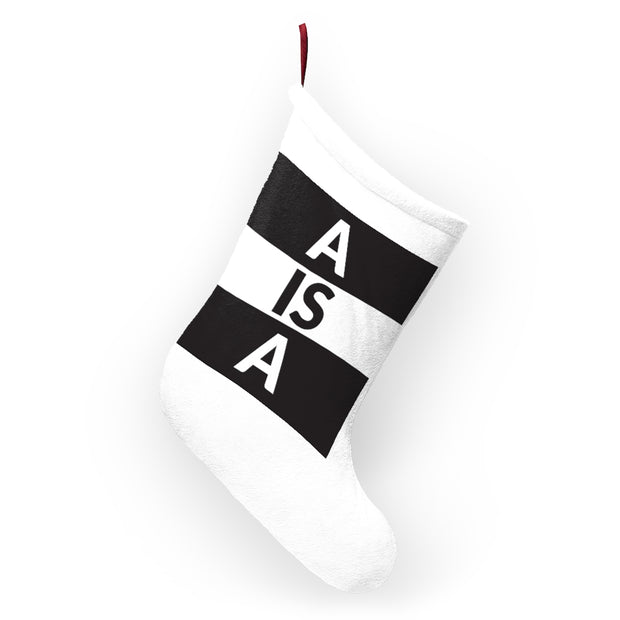 A is A Christmas Stocking