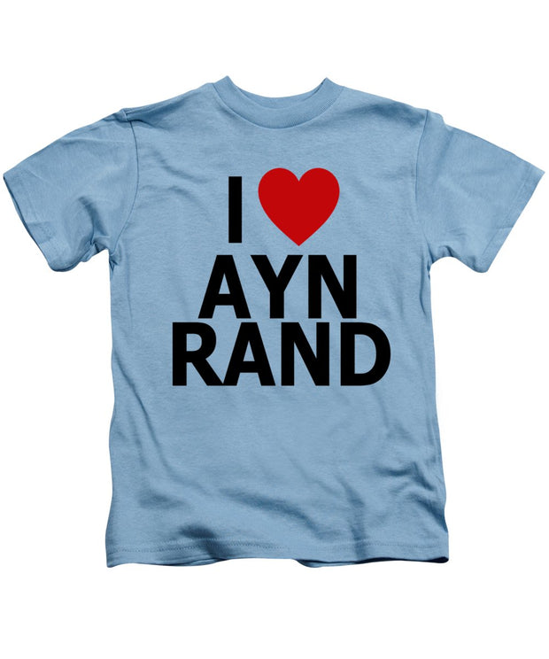 I Heart Ayn Rand - Kids T-Shirt
