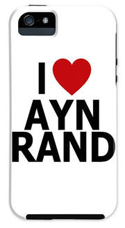 I Heart Ayn Rand - Phone Case (Various Models)