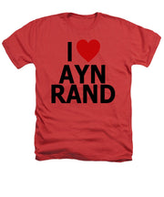 I Heart Ayn Rand - Heathers T-Shirt