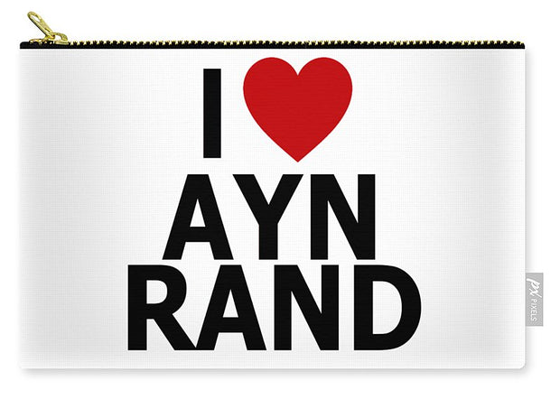 I Heart Ayn Rand - Carry-All Pouch