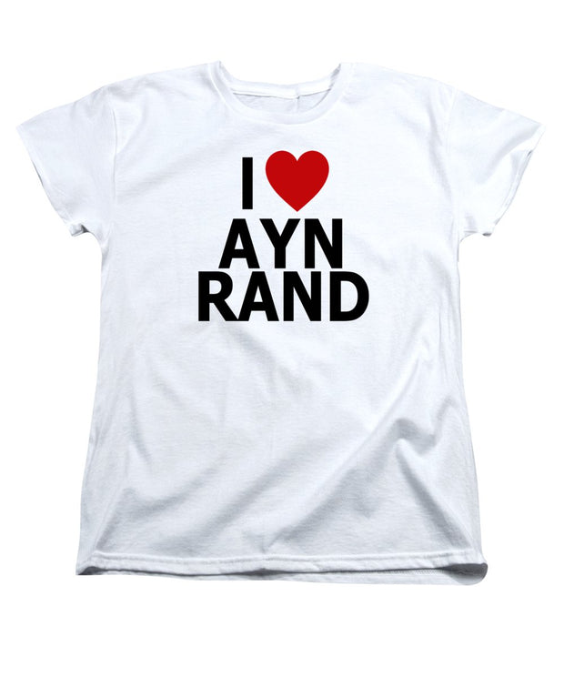 I Heart Ayn Rand - Women's T-Shirt (Standard Fit)