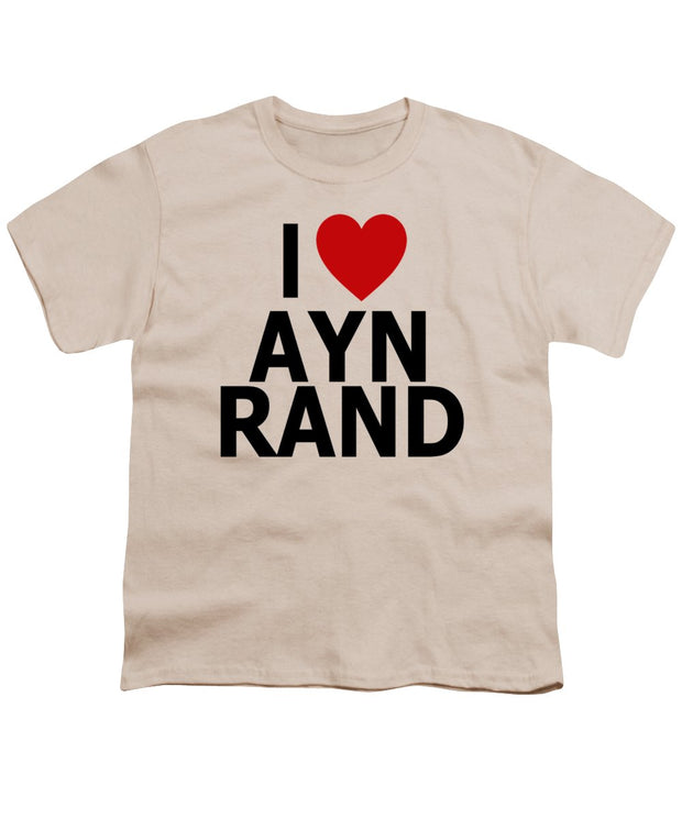I Heart Ayn Rand - Youth T-Shirt