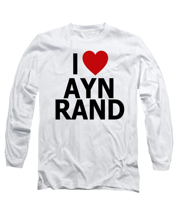 I Heart Ayn Rand - Long Sleeve T-Shirt