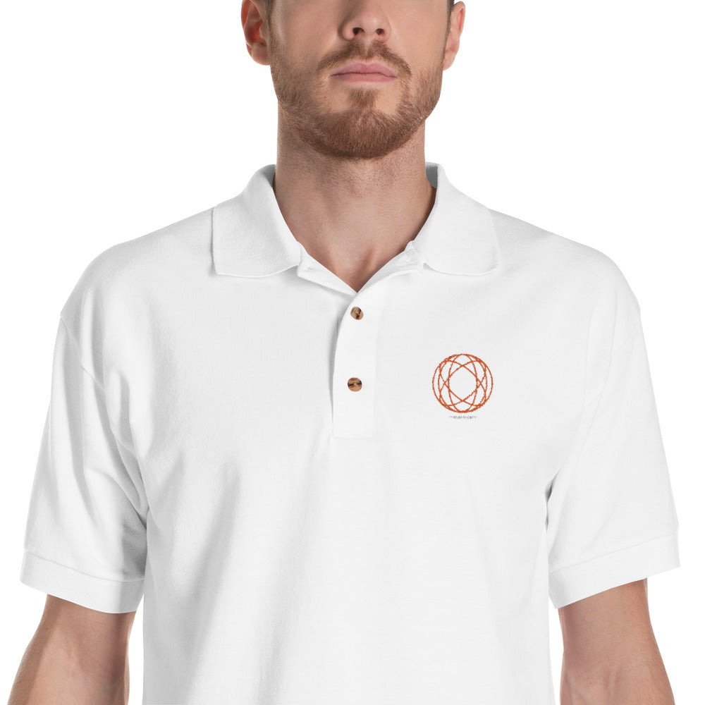 TAS Logo Embroidered Polo Shirt