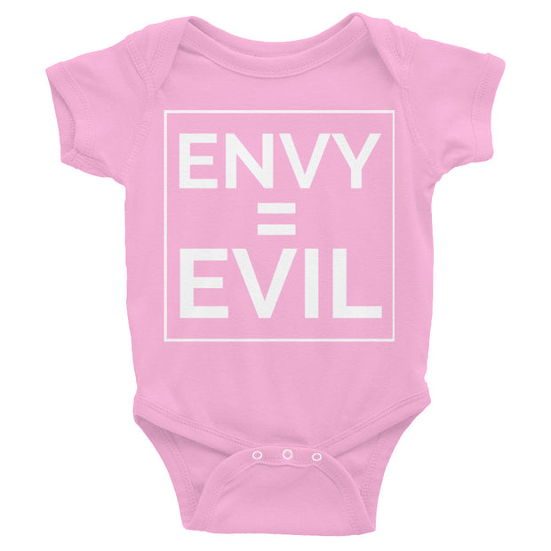 Envy Is Evil Infant Bodysuit