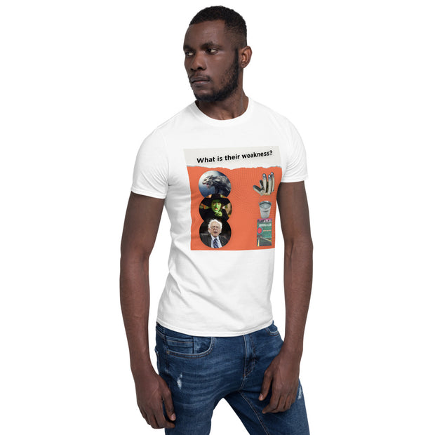 Bernie's Weakness Short-Sleeve Unisex T-Shirt