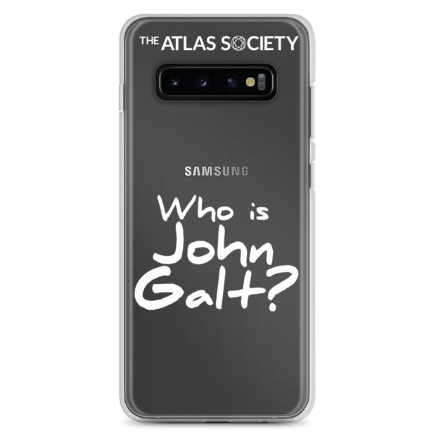 Who is John Galt? - Galaxy S10 Cases