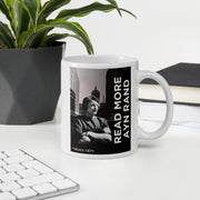 Read More Ayn Rand Double Mug