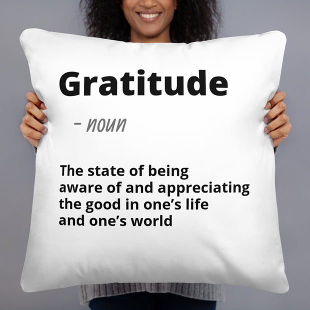Gratitude - Throw Pillow