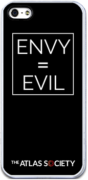 ENVY = EVIL  (iPhone case, black)