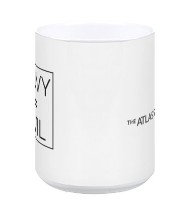Envy = Evil coffee mug (white)