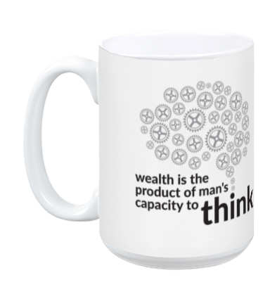 Wealth coffee mug