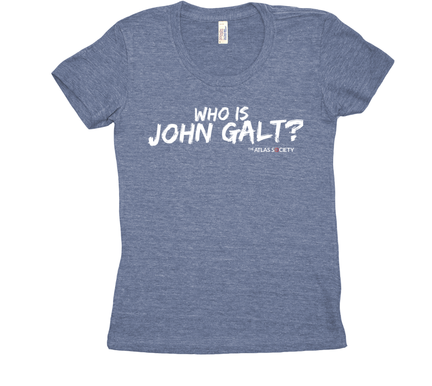 Who is John Galt? (tri-blend T)