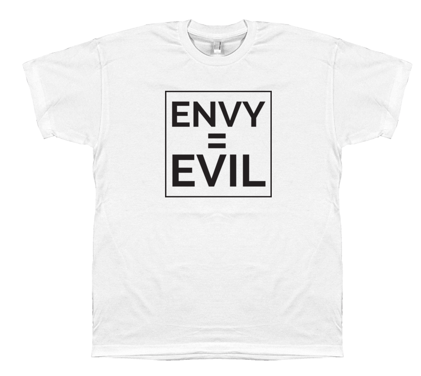 Envy = Evil (no logo)