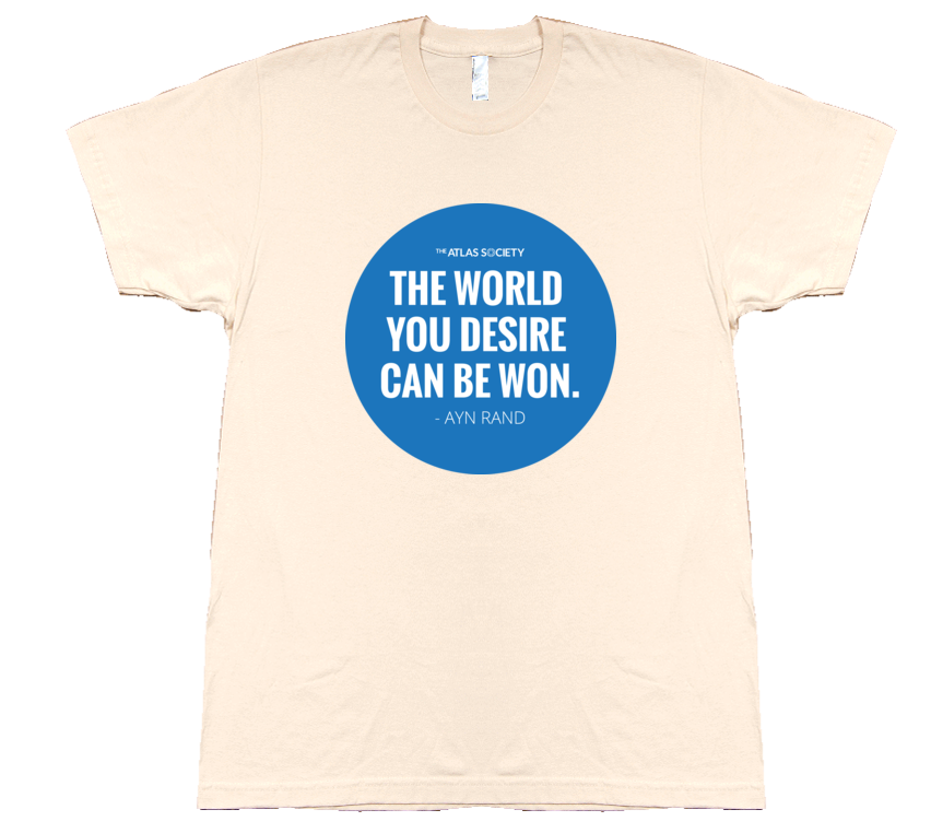 The world you desire can be won