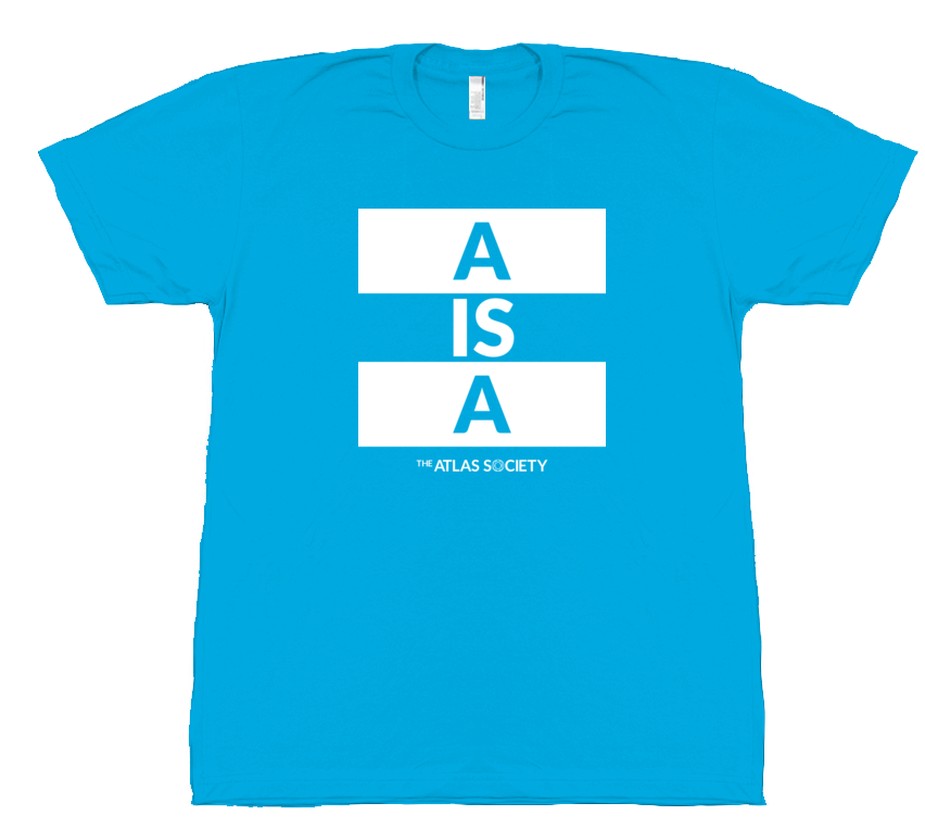 A is A (white with logo)