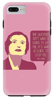 Who Is Going To Stop Me - Phone Case (Various Models)
