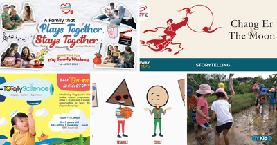 5 Things to do and Places to go with Kids this weekend in Singapore (31st Aug - 6th Sep 2020)