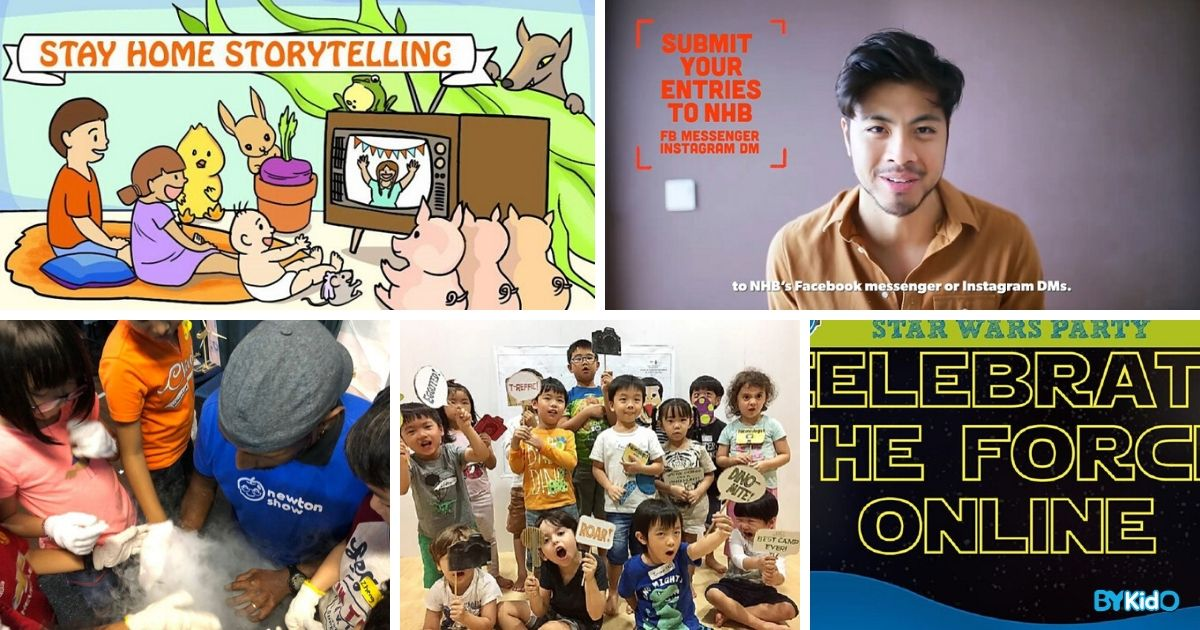 5 Things to do and Places to go with Kids this weekend in Singapore (4th - 10th May 2020)