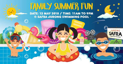 Things to do this Weekend: Join in the Merrymaking with Your Little Ones at SAFRA Family Summer Fun!