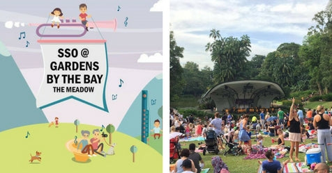 Things to do this Weekend: Enjoy a Picnic & Music at the Gardens with Your LOs!