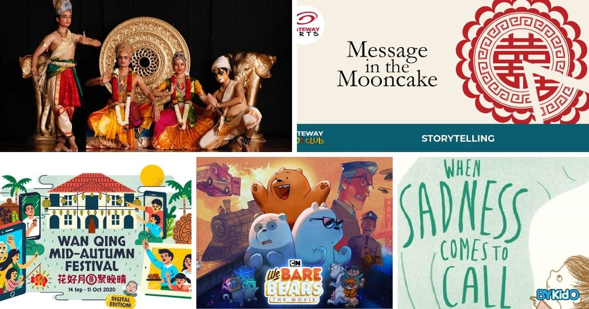 5 Things to do and Places to go with Kids this weekend in Singapore (7th - 13th Sep 2020)