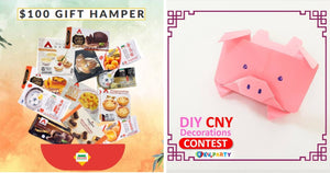 Giveaways of the Week: Win these Attractive Prizes for an Extra Special CNY!