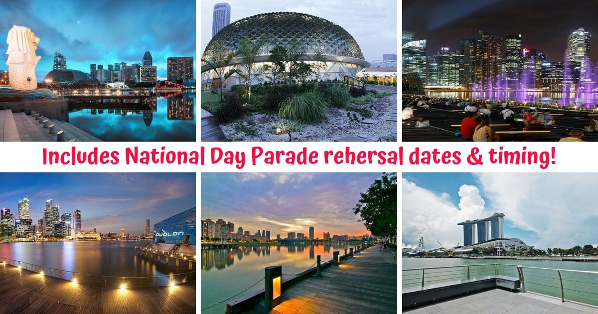 10+ Great Places for a Stunning View of National Day 2019 Fireworks