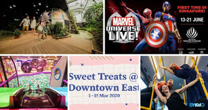 5 Things to do and Places to go with Kids this weekend in Singapore (9th - 15th Mar 2020)