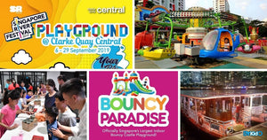 5 Things to do and Places to go with Kids this weekend in Singapore (9th - 15th Sept 2019)