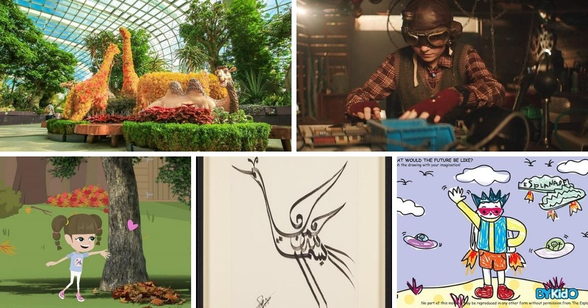 5 Things to do and Places to go with Kids this weekend in Singapore (10th - 16th Aug 2020)