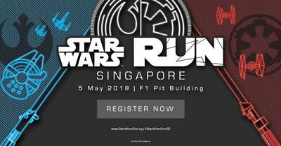 Things to do this Weekend: Take Part in STAR WARS™ Run with Your Little Ones!