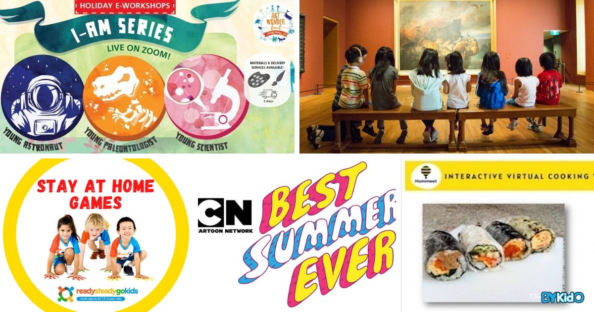 5 Things to do and Places to go with Kids this weekend in Singapore (11th - 17th May 2020)