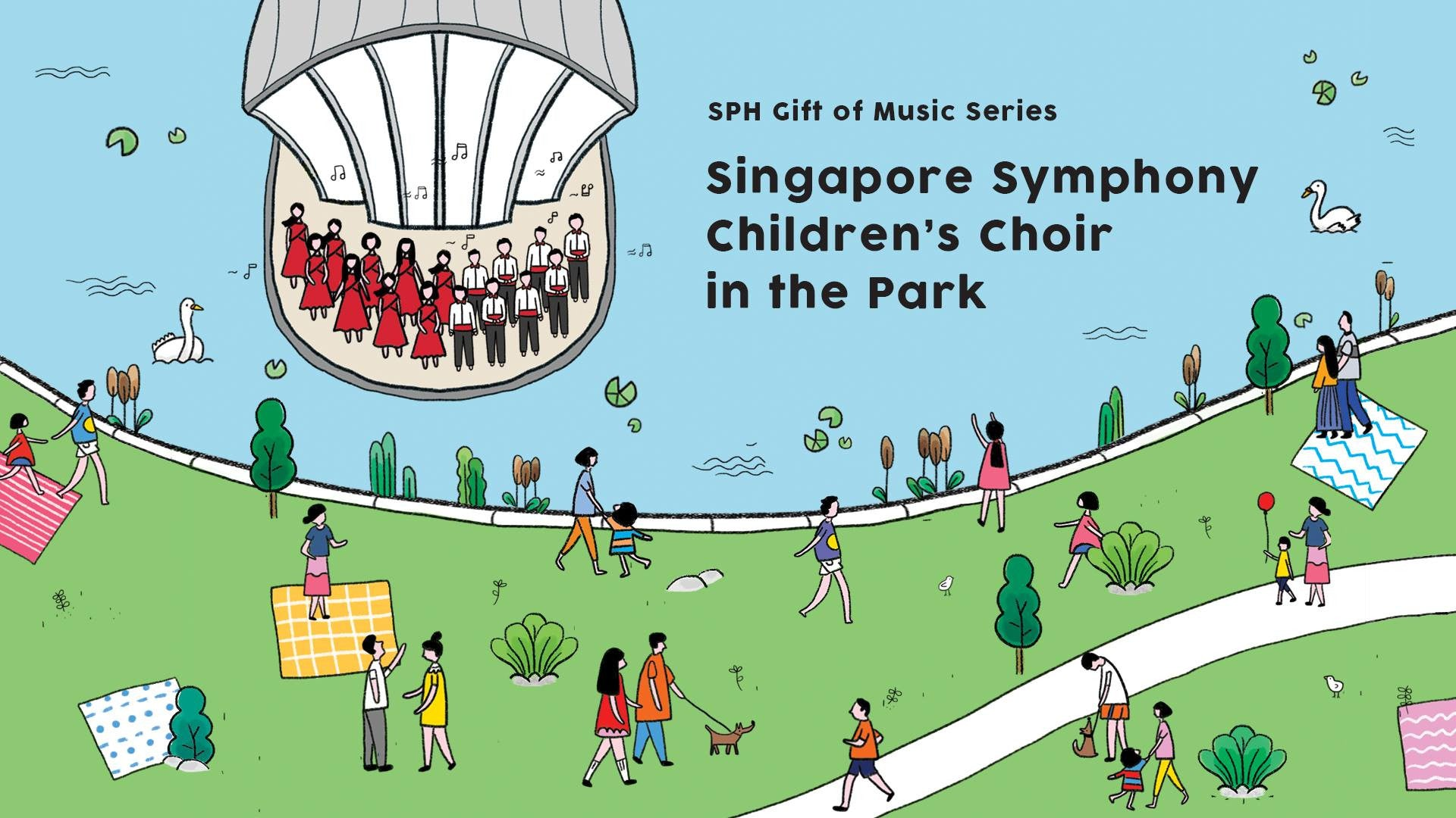 Places to go this Weekend - Singapore Symphony Children's Choir @ Botanic Gardens