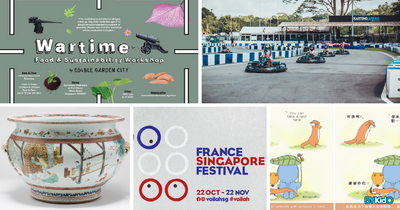 5 Things to do and Places to go with Kids this weekend in Singapore (12th - 18th Oct 2020)