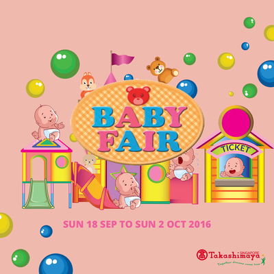 Promotions to Share - Takashimaya Baby Fair 2016