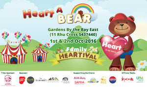 Places to go this Weekend - Heart a Bear