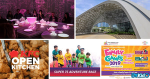 5 Things to do and Places to go with Kids this weekend in Singapore (8th - 14th Apr 2019)