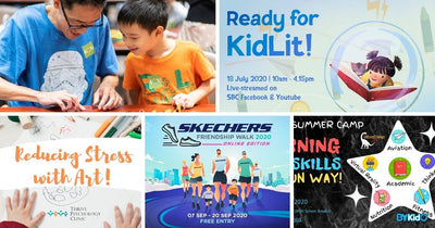 5 Things to do and Places to go with Kids this weekend in Singapore (13th - 19th Jul 2020)