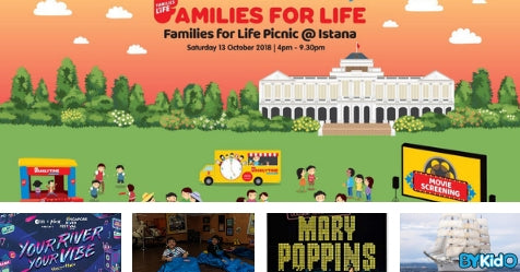 5 Things to do and Places to go with Kids this weekend in Singapore (8th - 14th Oct 2018)