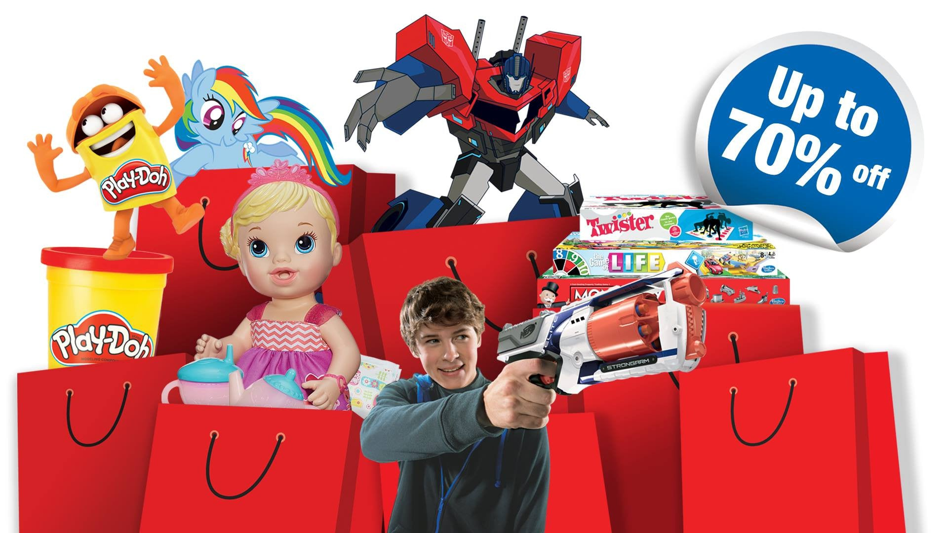 Things to do this Weekend - Xmas Shopping @ Hasbro Warehouse Sale!
