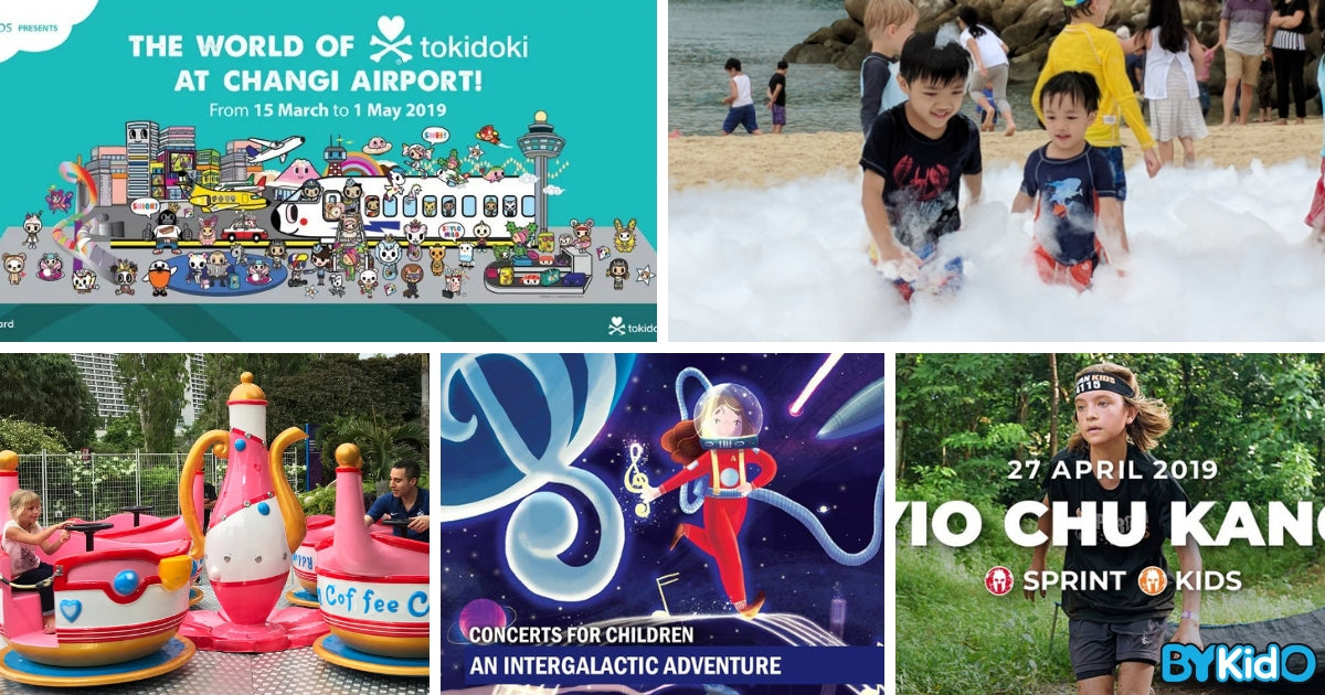 5 Things to do and Places to go with Kids this weekend in Singapore (11th - 17th Mar 2019)