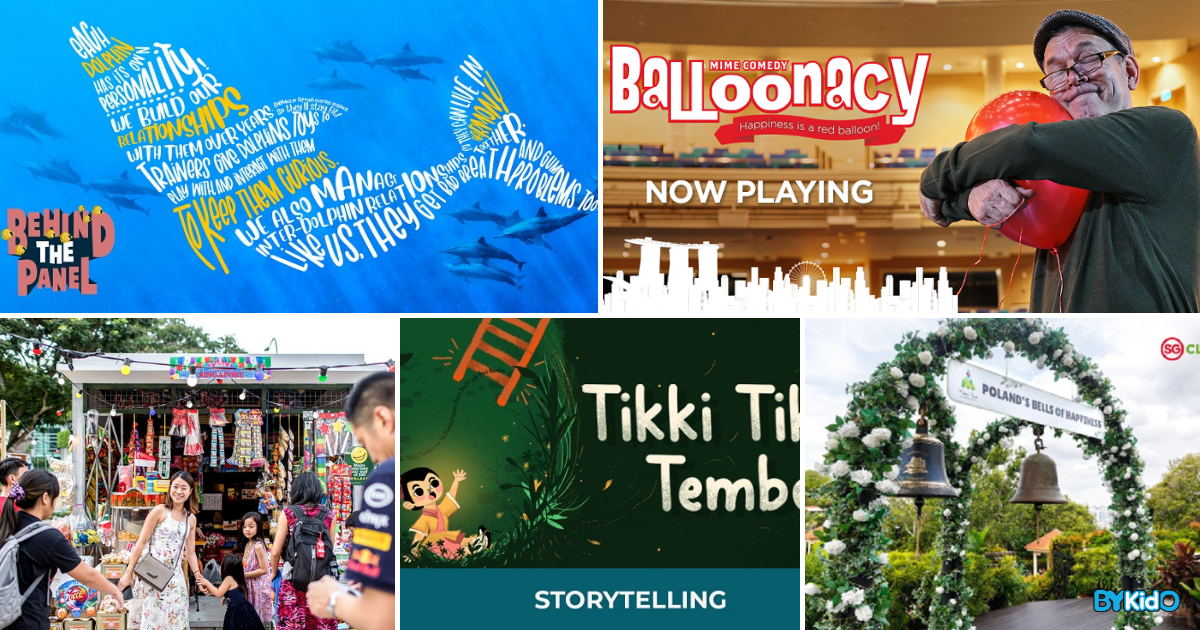 5 Things to do and Places to go with Kids this weekend in Singapore (15th - 21st Mar 2021)