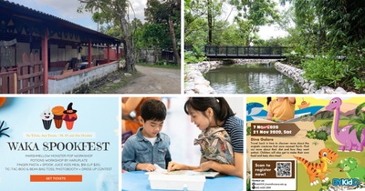 5 Things to do and Places to go with Kids this weekend in Singapore (19th - 25th Oct 2020)