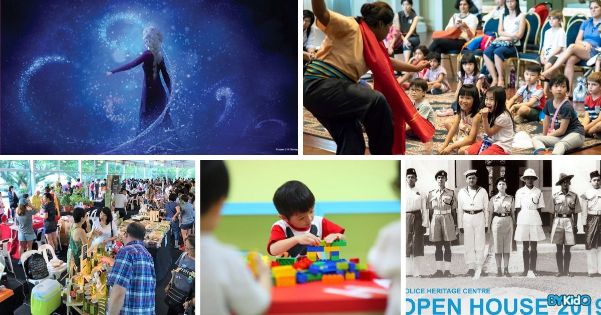 5 Things to do and Places to go with Kids this weekend in Singapore (21st - 27th Oct 2019)