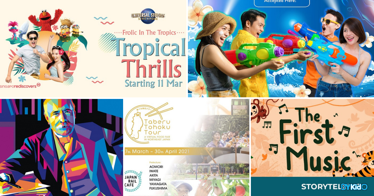 5 Things To Do With Kids This Weekend In Singapore (22nd - 28th Mar 2021)