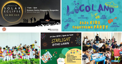 5 Things to do and Places to go with Kids this weekend in Singapore (23rd - 29th Dec 2019)